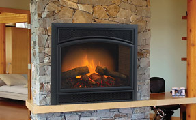 Allura-Fire Electric Fireplace | Fireplace Grills and More