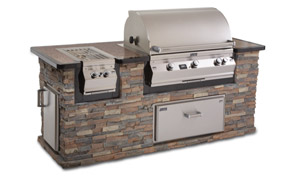 AOG Builtin Grill | Fireplace Grills and More