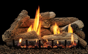 Morgan Creek Logs | Fireplace Grills and More