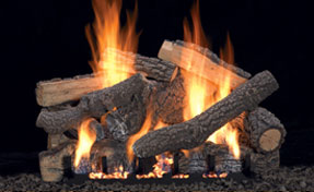 Ponderosa Logs | Fireplace Grills and More