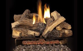 FMI Mixed Oak | Fireplace Grills and More