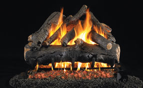 Charred Oak | Fireplace Grills and More
